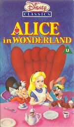 Alice in Wonderland UK VHS (1989)
