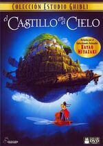 Castle in the Sky Spanish DVD