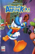 Donald Duck Quack Attack Artwork
