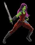 Gamora Animated Render 01
