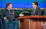 Jeff Garlin late night Stephen Colbert