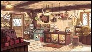 Mystery Shack interior