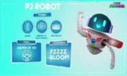 PJ Robot stats