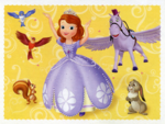 Panini Sofia the First Sticker Cards 1