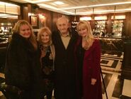 Roy-Dotrice-and-his-daughters