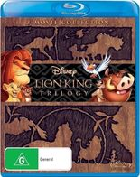 The Lion King Trilogy 2011 AUS Blu Ray