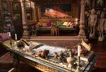 Aladdin - The Sultan's bedroom set
