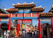 Chinatown gate, Los Angeles