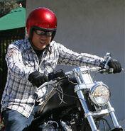 Dante Basco motorcycle