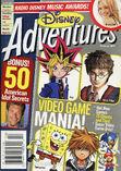 Disney Adventures Magazine cover February 2004 Video Games