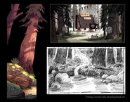 Gravity Falls Concept Art 3