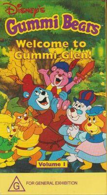 Gummi Bears Welcome to Gummi Glen! 1997 AUS VHS