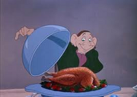Ichabod Crane with a Turkey