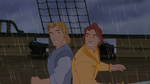 John Smith with John Rolfe