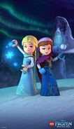 LEGO Frozen Northern Lights - Elsa and Anna