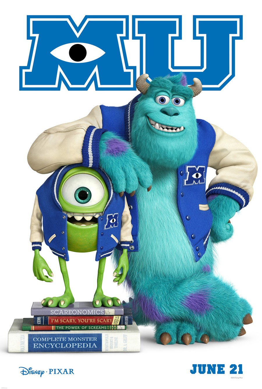 Image monsters university posterg disney wiki fandom monsters university posterg voltagebd Image collections