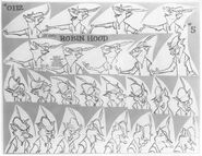 Robin Hood Model sheet 2