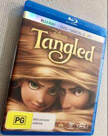 Tangled 2011 AUS Blu Ray + DVD + Digital Copy