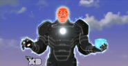 Tesseract powered Red Skull