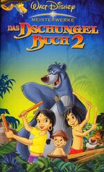 The Jungle Book 2 Germany VHS
