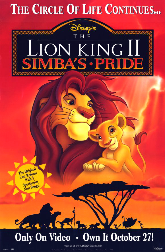lion king 2 kovu exile song lyrics