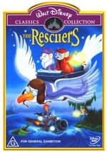 The Rescuers 2001 AUS DVD First