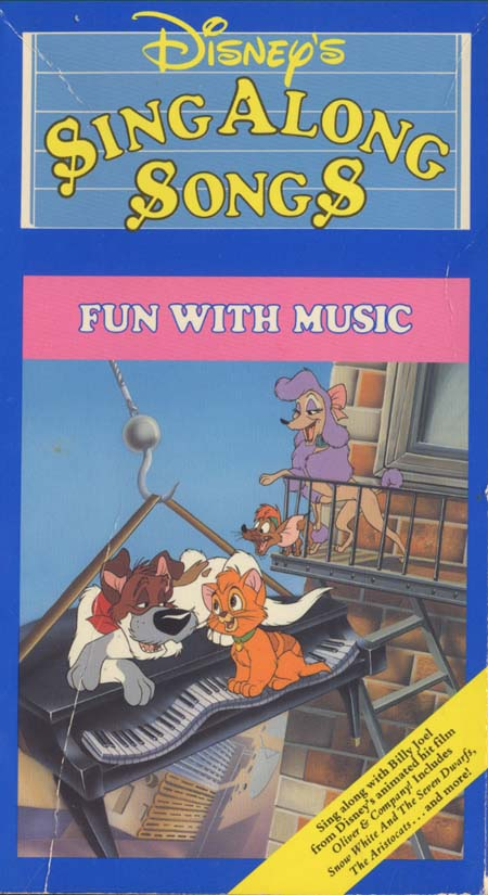 disney sing along songs fun with music