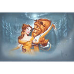Beauty and the Beast ''Evening Waltz'' Giclée by Noah