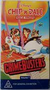Chip n Dale Rescue Rangers Crimebusters 1996 AUS VHS