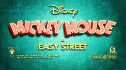 Easy Street Title Card