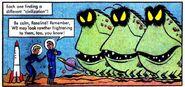 Martian Mastermind Comic