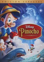 Pinocchio Mexico DVD Basic Cover