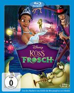 The Princess and the Frog 2010 Germany Blu-Ray