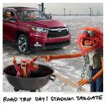 Toyota road trip day 1