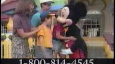 Walt Disney World 25th Anniversary Commercial 2