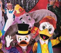 Dumbo with Scrooge and Gyro