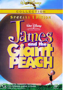 James and the Giant Peach 2003 AUS DVD