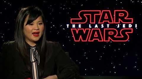 Star Wars The Last Jedi Kelly Marie Tran Interview