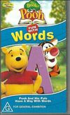 The Book Of Pooh Fun with Words 2002 AUS VHS