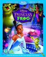 The Princess and the Frog 2011 Blu-ray 3 Disc Superset