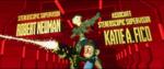 Wreck-It Ralph credits - Calhoun and Felix blasters