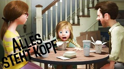 ALLES STEHT KOPF - Offizieller Trailer (German deutsch) - Ab 1.10. 2015 im Kino - Disney HD