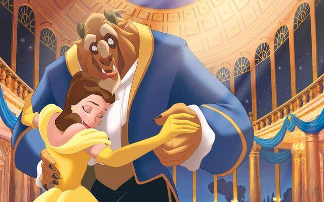 File:Disney Princess Belle's Story Illustraition 12.jpg