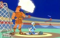 Donald and Hercules
