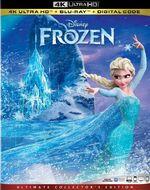 Frozen 4KUHD Blu-ray