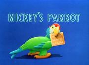 Mickey's Parrot