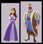 Queen Arianna and King Frederic concept