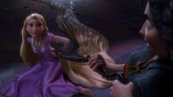 Rapunzel Fight