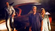 Tim, Lizzie and Martin Spaceship