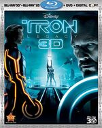 TronUprising 3D Bluray